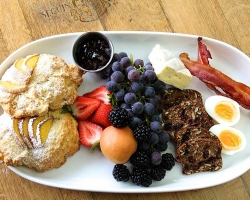 Breakfast catering platter - The Bench Market, Penticton BC